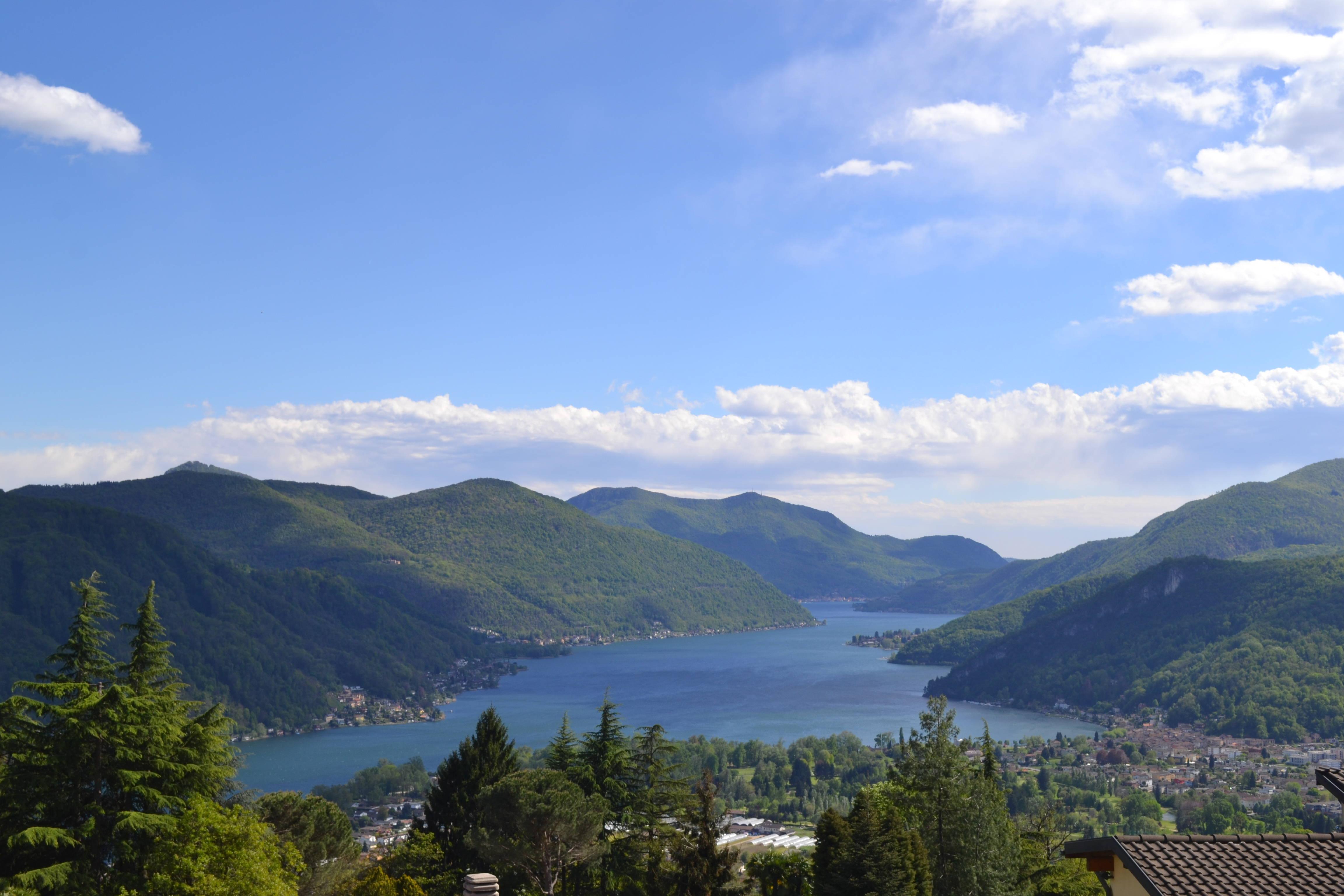 Stupendo 3,5 Locali con Giardino e Incantevole Vista Lago