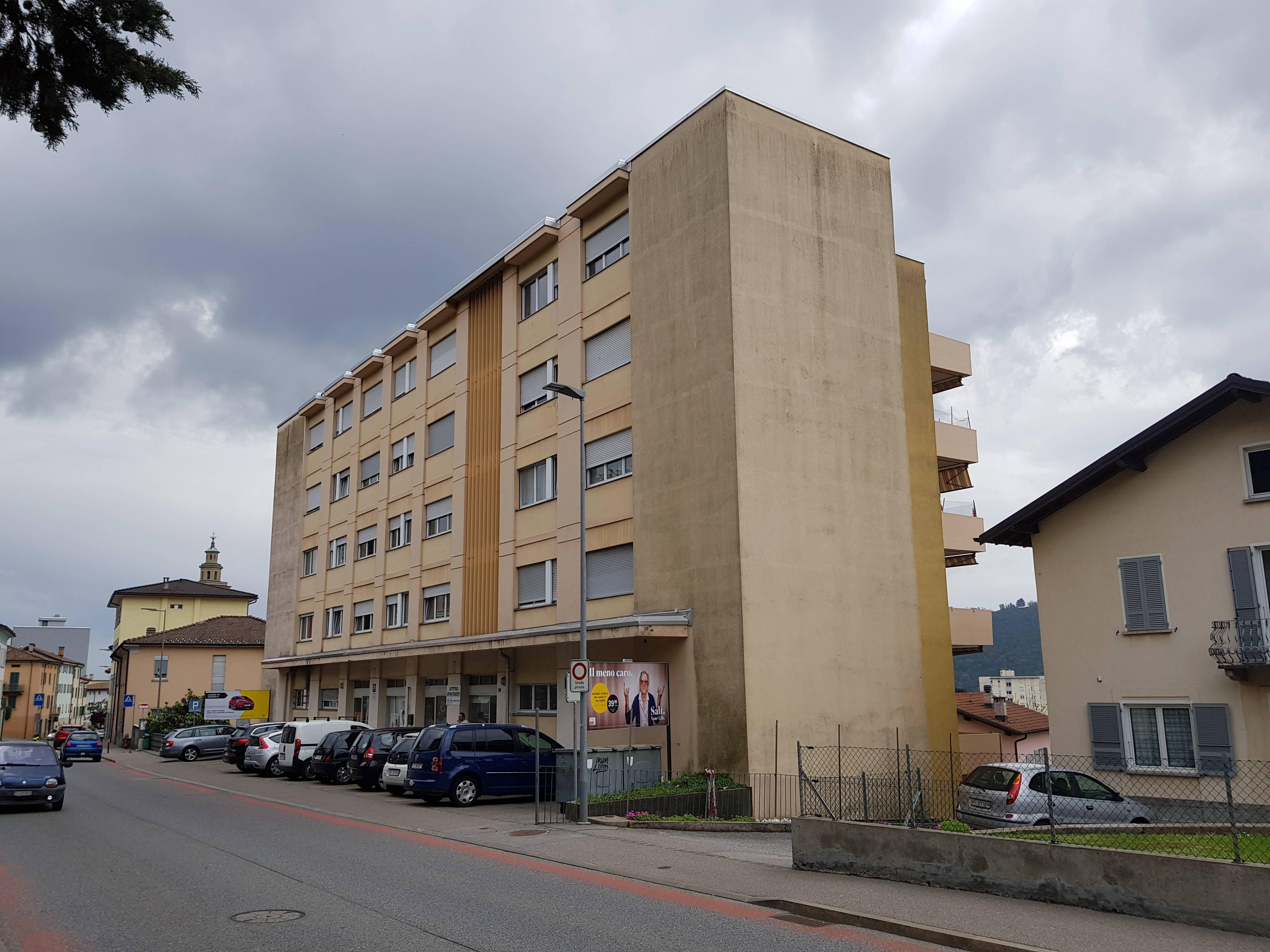 Appartamento 2,5 Locali 3° Piano