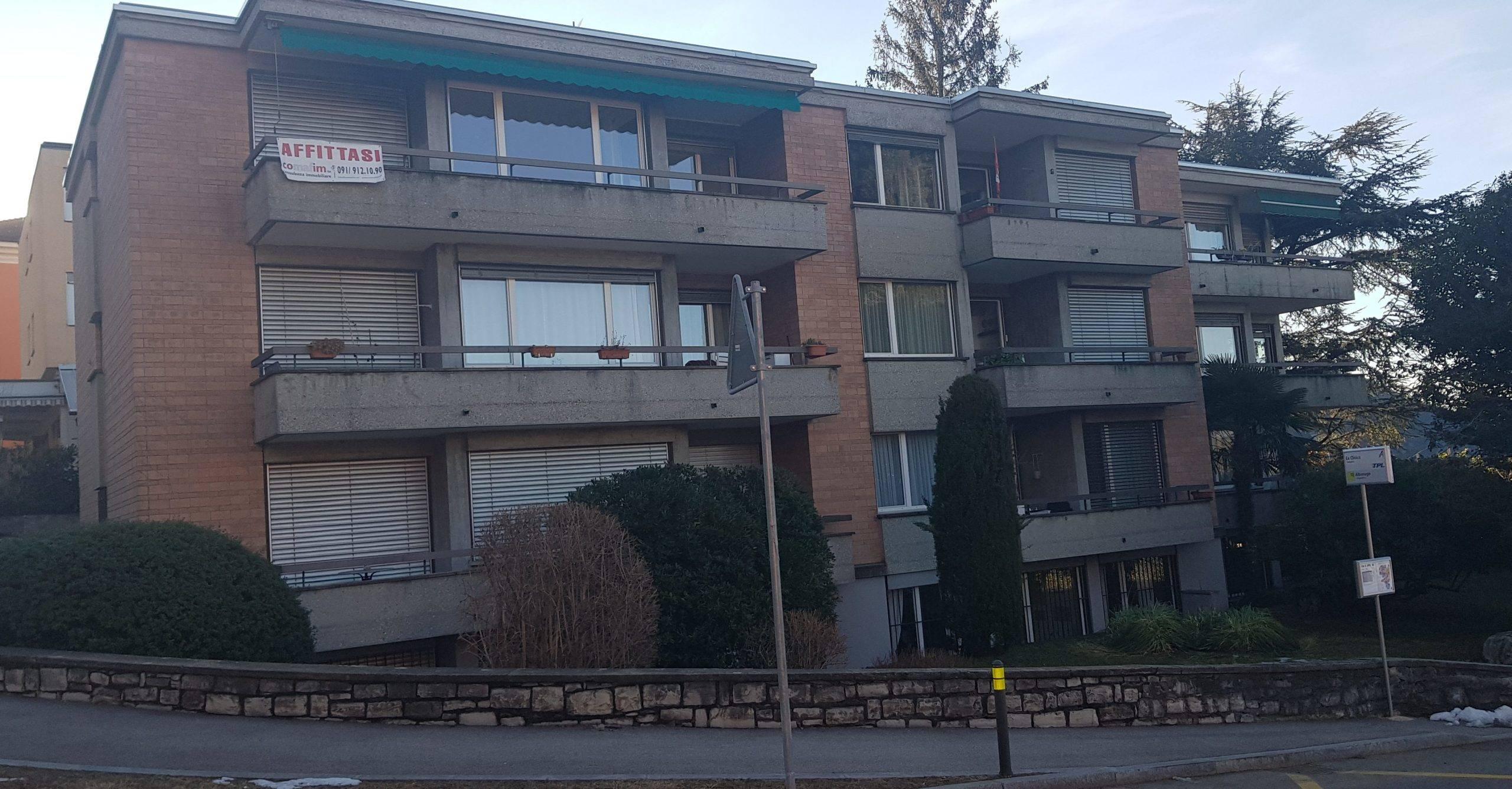 Ruvigliana –  Ampio e Luminoso Appartamento 3,5 Locali