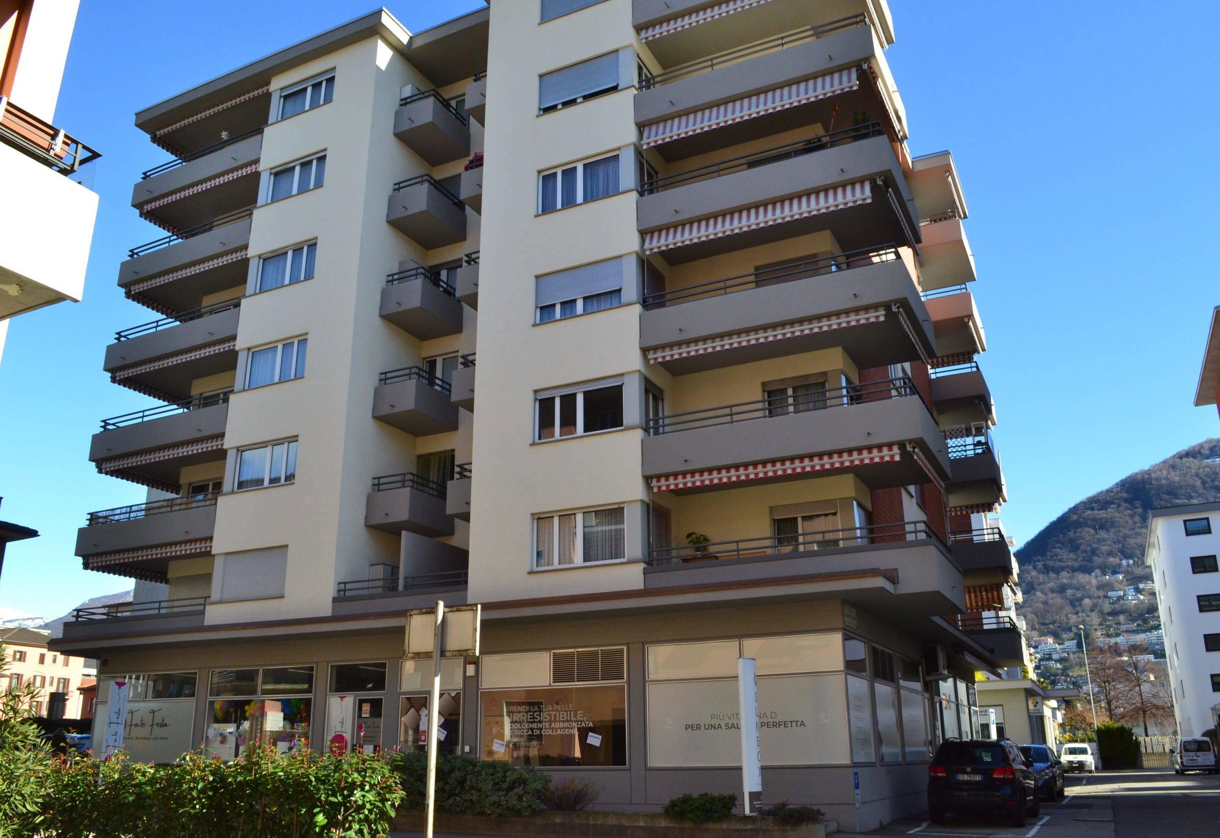Lugano – 3.5 Locali al 5° Piano con Vista sulla Città!