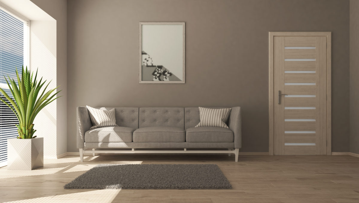 3D contemporary Living Room Interior and modern furniture